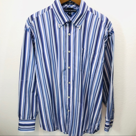 Tommy Hilfiger Other - Tommy Hilfiger - 80's 2 Ply - Vintage Button down